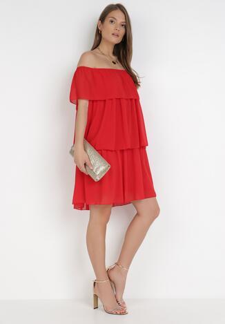 Czerwona Sukienka Najath
