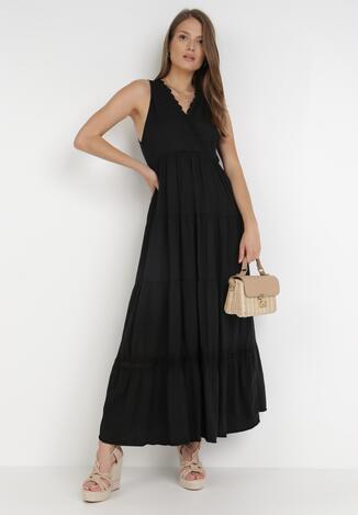 Czarna Sukienka Kaphixie