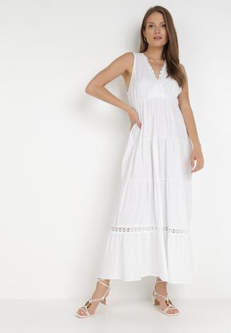 Biała Sukienka Kaphixie