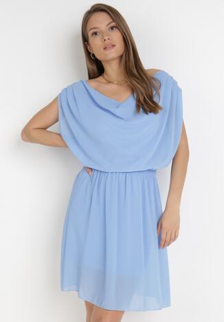 Jasnoniebieska Sukienka Amula