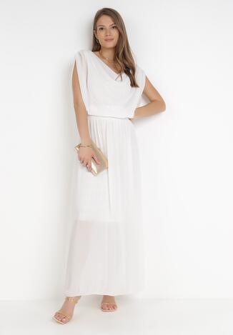 Biała Sukienka Zephyphise