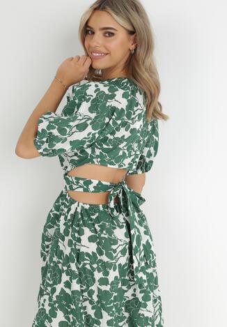 Zielona Sukienka Lisiphe