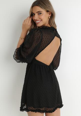 Czarna Sukienka Taphionis