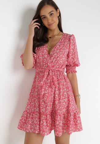 Różowa Sukienka Salesi