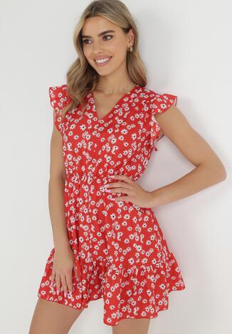Czerwona Sukienka Theaneilise