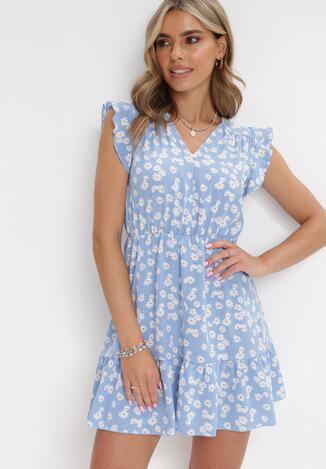 Niebieska Sukienka Theaneilise