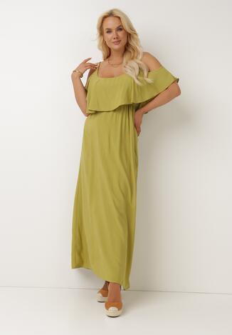 Zielona Sukienka Sterigan