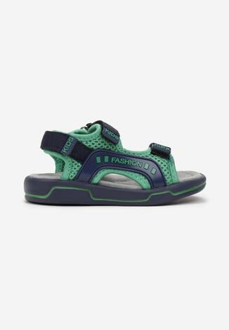 Niebiesko-Zielone Sandały Neviell