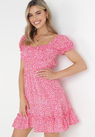 Różowa Sukienka Emas