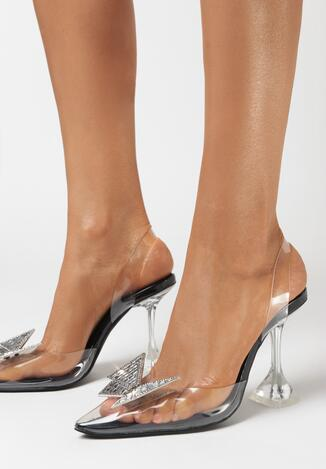 Czarne Sandały Bertel
