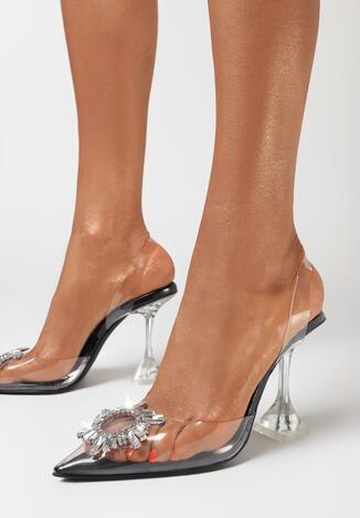 Czarne Sandały Jorith