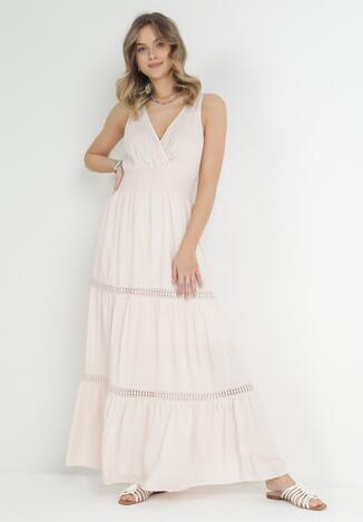 Jasnoróżowa Sukienka Rhenemisa