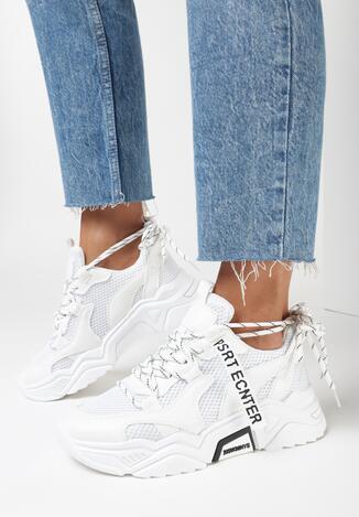 Białe Sneakersy Ceerowen