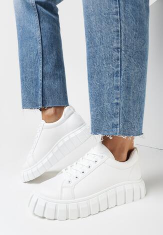 Białe Sneakersy Iasen
