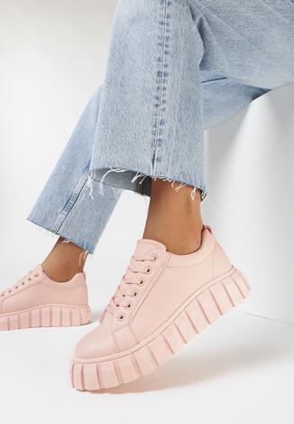 Różowe Sneakersy Iasen