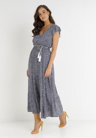 Granatowa Sukienka Tudanna