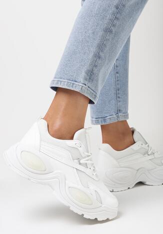 Białe Sneakersy Phaevy