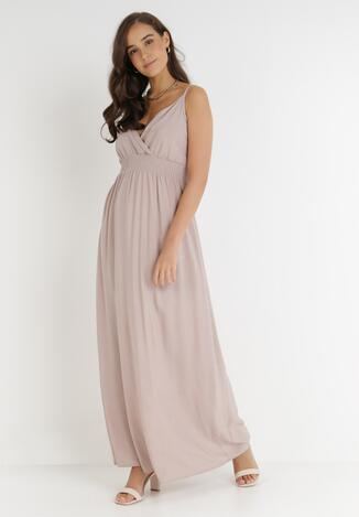 Beżowa Sukienka Cadole
