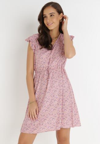 Różowa Sukienka Rilolda