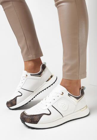 Białe Sneakersy Phiathomy