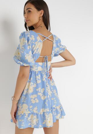 Jasnoniebieska Sukienka Thozo