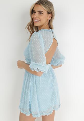 Jasnoniebieska Sukienka Taphionis