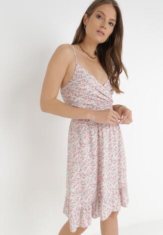 Jasnoróżowa Sukienka Chragny