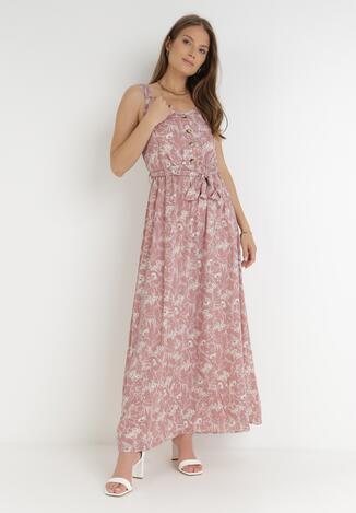 Różowa Sukienka Chreirleiada