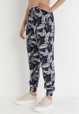 Granatowe Spodnie Phelco