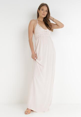 Jasnoróżowa Sukienka Zerlaivo