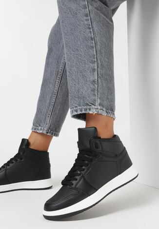 Czarne Sneakersy Prosedice