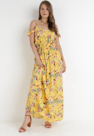 Żółta Sukienka Zyrdea