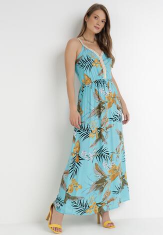 Jasnoniebieska Sukienka Xittyve