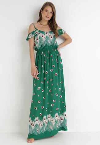 Zielona Sukienka Xaemanea