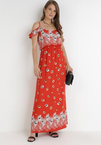 Czerwona Sukienka Xaemanea
