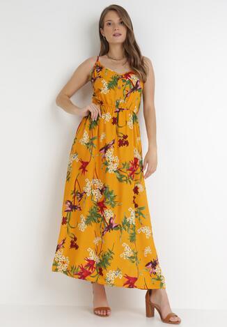 Żółta Sukienka Savaropheu