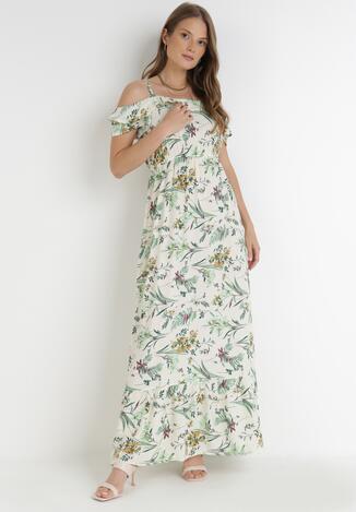 Kremowa Sukienka Pethophai