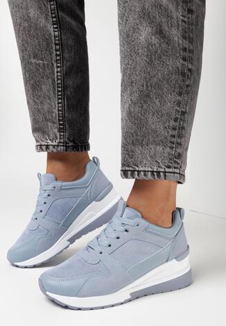 Niebieskie Sneakersy Kysima