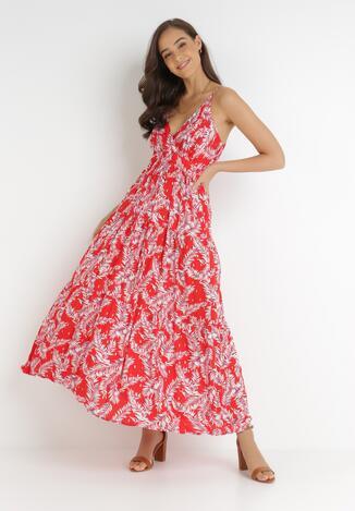 Czerwona Sukienka Zerasine