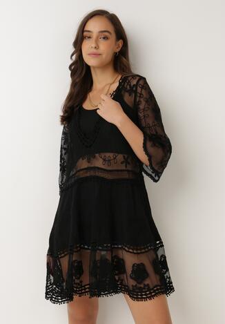 Czarna Sukienka Nedatai