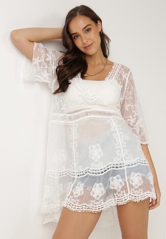 Biała Sukienka Nedatai