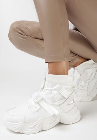 Białe Sneakersy Eudorissa