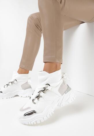 Białe Sneakersy Teremisia