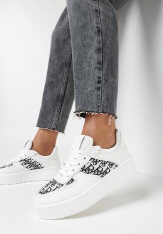 Białe Sneakersy Callinos