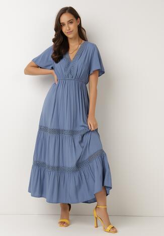 Niebieska Sukienka Selphie