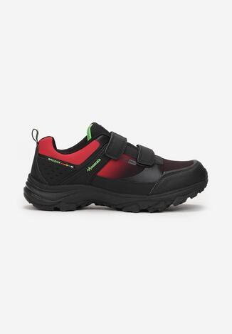 Czarno-Czerwone Buty Sportowe Vane