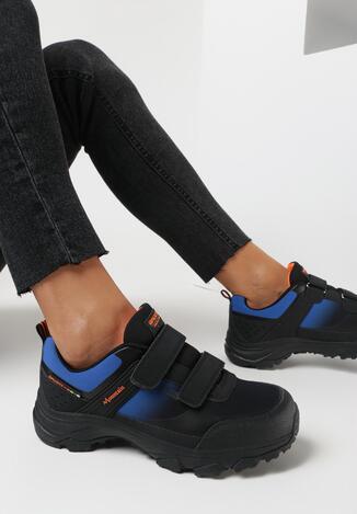 Czarno-Niebieskie Buty Sportowe Vane