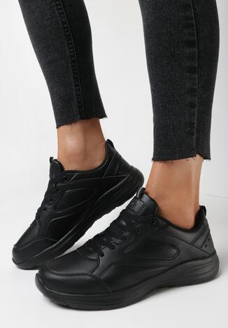 Czarne Buty Sportowe Aamiel