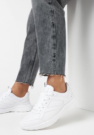 Białe Buty Sportowe Aamiel