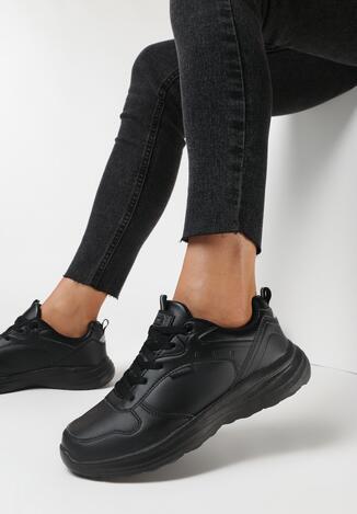Czarne Buty Sportowe Helien